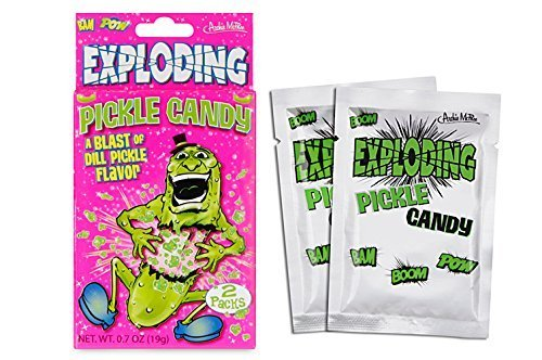 Candy Exploding Pickle