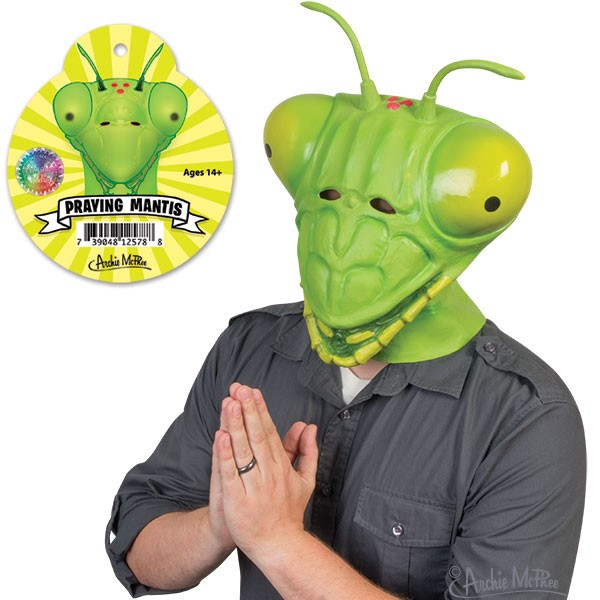 Novelty Praying Mantis Mask