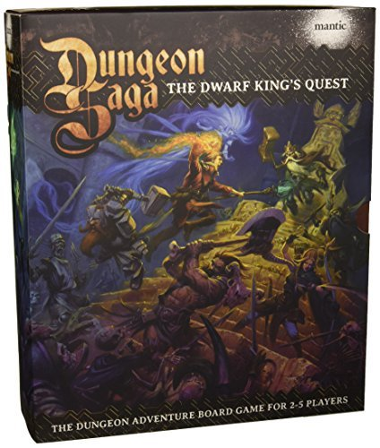 Board Game Dungeon Saga Base Game