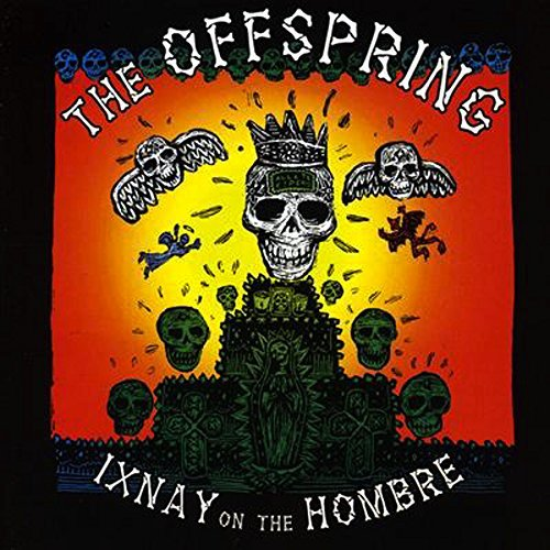 Offspring Ixnay On The Hombre (olive Green Vinyl) Limited To 750 Copies 180 Gram Vinyl