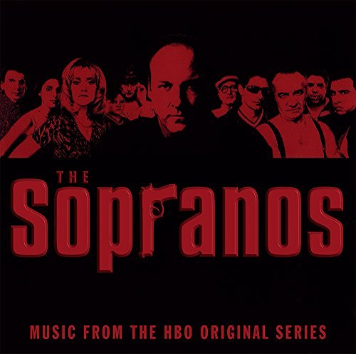 The Sopranos Music From The Hbo Original Series (red W Black Smoke Vinyl)