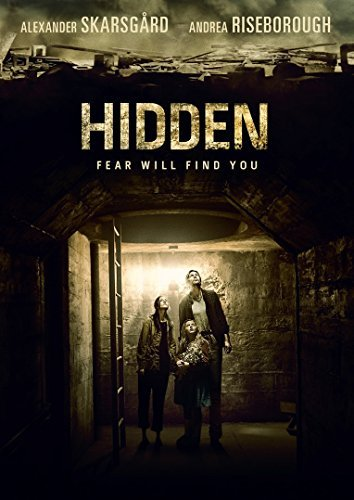 Hidden Skarsgard Riseborough DVD R