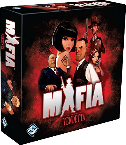 Fantasy Flight Games Mafia Vendetta Social Game