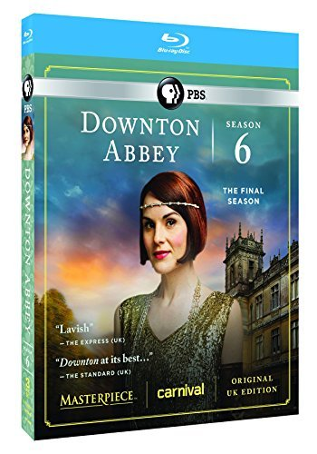 Downton Abbey Season 6 Blu Ray