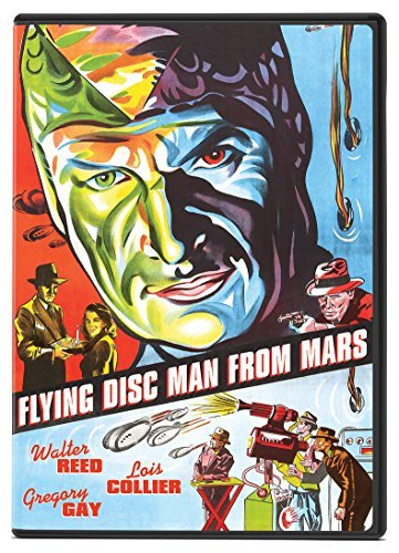 Flying Disc Man From Mars Reed Gay Collier DVD Nr