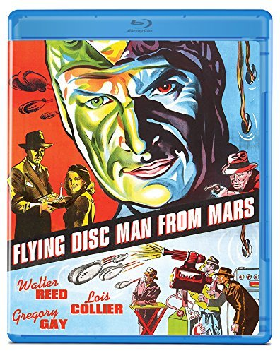 Flying Disc Man From Mars Reed Gay Collier Blu Ray Nr