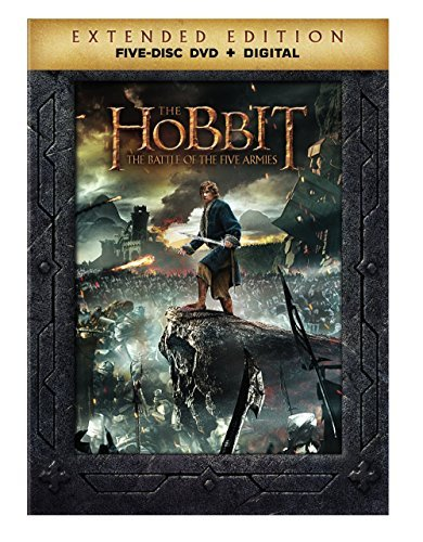 Hobbit The Battle Of The Five Armies Mckellen Freeman Armitage Extended Cut DVD Dc R