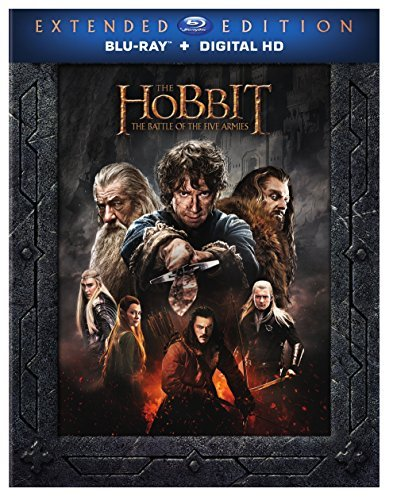 Hobbit The Battle Of The Five Armies Mckellen Freeman Armitage Extended Cut Blu Ray Dc R