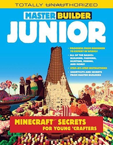 Trevor Talley Master Builder Junior Minecraft (r)(tm) Secrets For Young Crafters