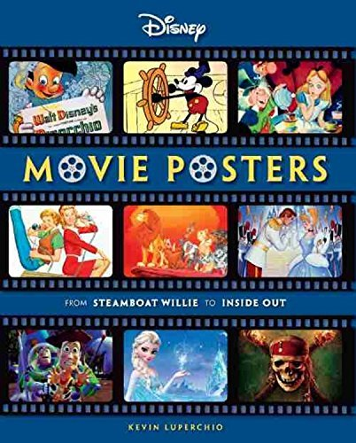 Kevin Luperchio Disney Movie Posters From Steamboat Willie To Inside Out