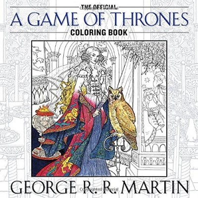 George Martin The Official A Game Of Thrones Coloring Book