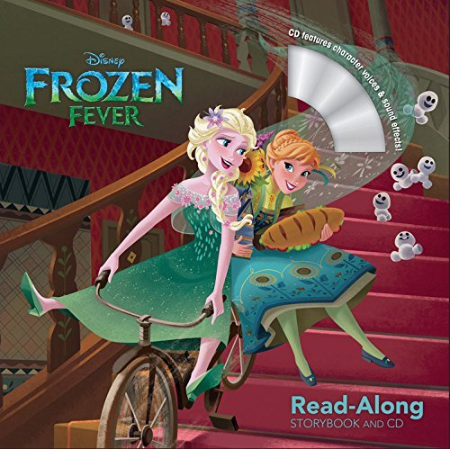 Disney Storybook Art Team Frozen Fever Read Along Storybook And CD