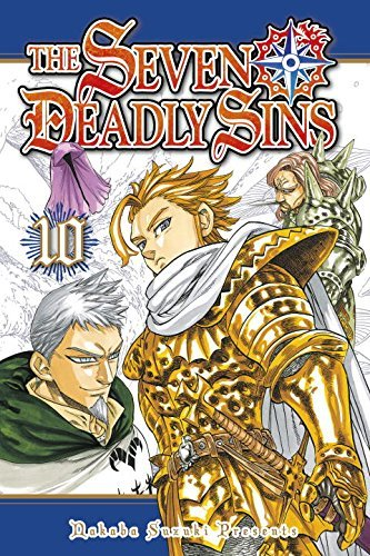 Nakaba Suzuki The Seven Deadly Sins Volume 10