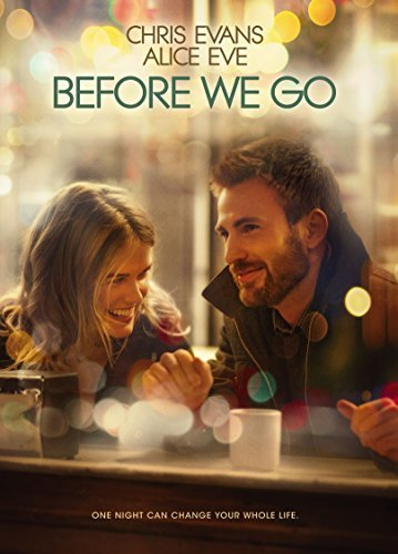 Before We Go Evans Eve DVD Pg13