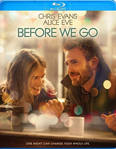 Before We Go Evans Eve Blu Ray Pg13
