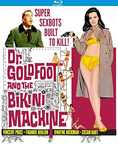 Dr. Goldfoot And The Bikini Machine Price Avalon Blu Ray Nr