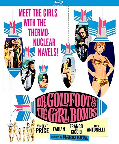 Dr. Goldfoot And The Girl Bombs Price Fabian Antonelli Price Fabian Antonelli