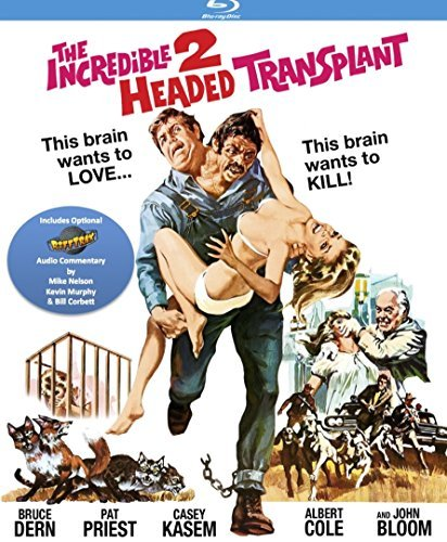 Incredible Two Headed Transplant Dern Priest Kasem Blu Ray R