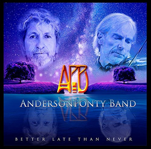 Anderson Ponty Band Better Late Than Never Import Gbr