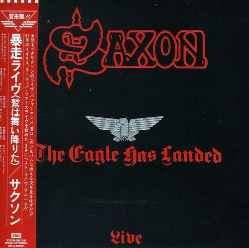 Saxon Eagle Has Landed Live Import Jpn