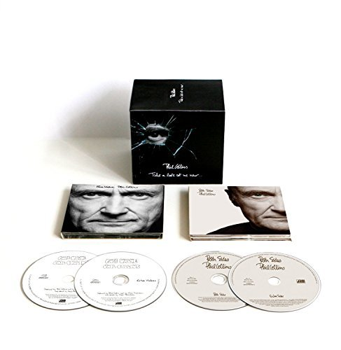 Phil Collins Take A Look At Me Now Collector's Edition 4xcd