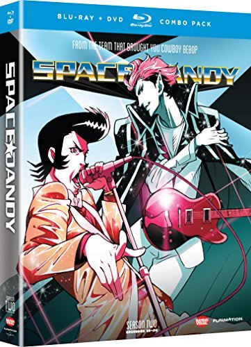 Space Dandy Season 2 Blu Ray DVD