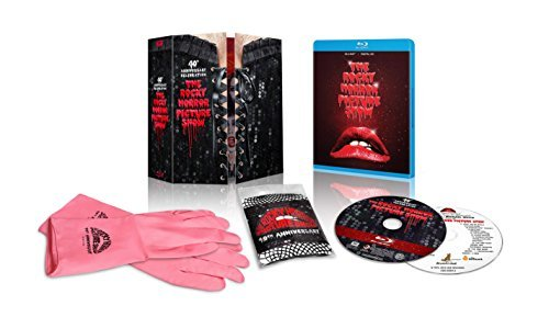 Rocky Horror Picture Show Curry Bostwick Sarandon Blu Ray CD Dhd R 40th Anniversary