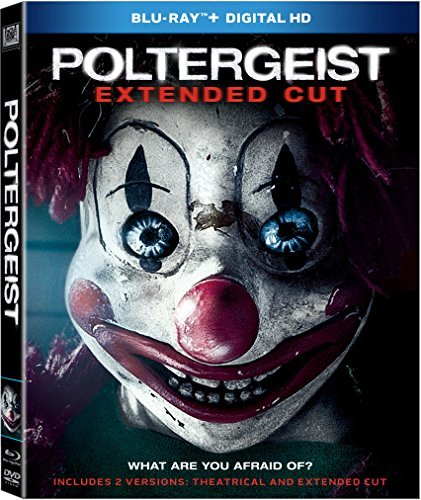 Poltergeist (2015) Rockwell Dewitt Blu Ray Dc Pg13 Extended Cut