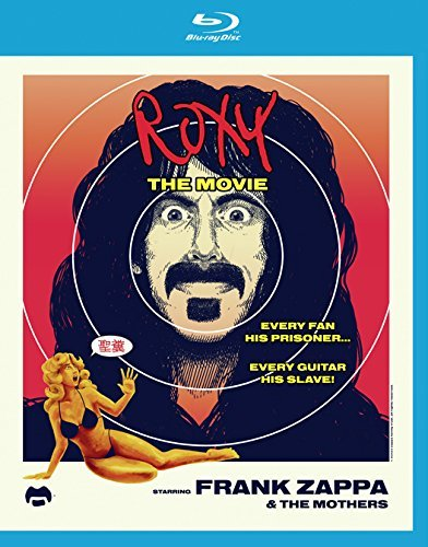 Frank Zappa & The Mothers Of Invention Roxy The Movie Blu Ray CD Combo