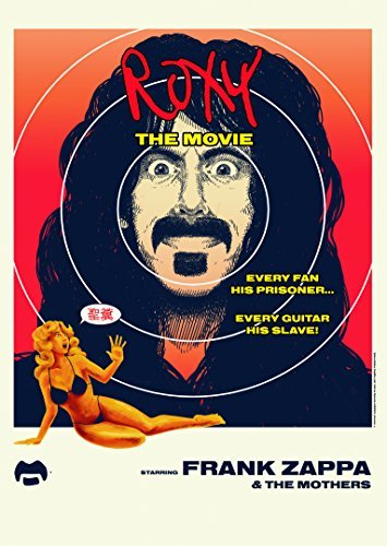 Frank Zappa & The Mothers Of Invention Roxy The Movie DVD CD Combo