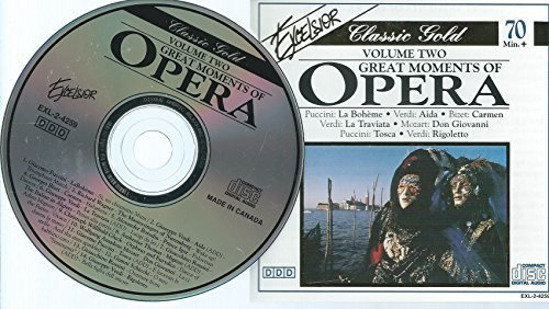 Great Moments Of Opera Vol. 2
