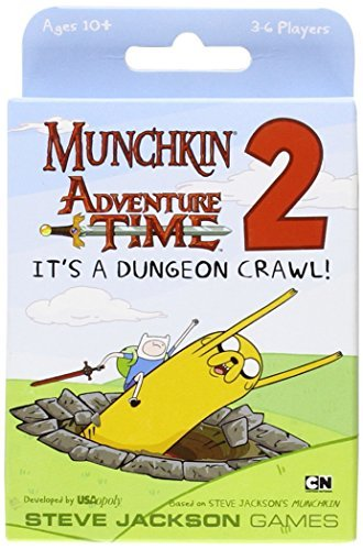 Usaopoly Munchkin Adventure Time 2 It's A Dungeon Crawl!