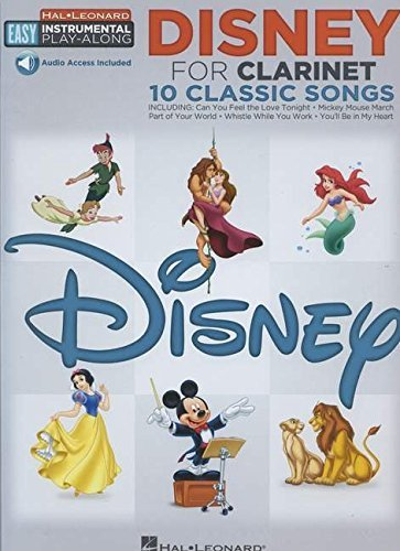 Hal Leonard Corp Disney For Clarinet