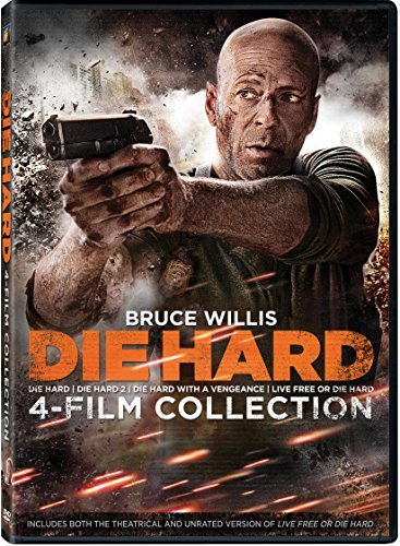 Die Hard 4 Film Collection DVD