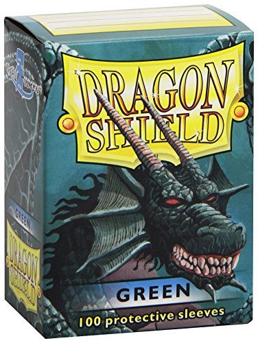 Card Sleeves Dragon Shield Green