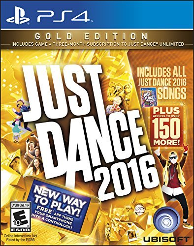 Ps4 Just Dance 2016 Gold Edition Just Dance 2016 Gold Edition