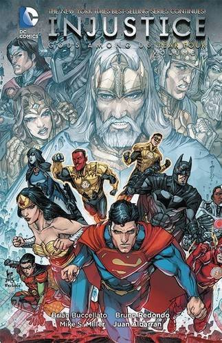 Brian Buccellato Injustice Gods Among Us Year Four Volume 1