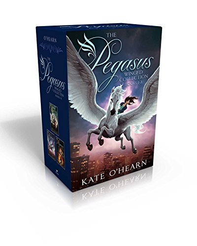 Kate O'hearn The Pegasus Winged Collection Books 1 3 The Flame Of Olympus; Olympus At War; The New Oly