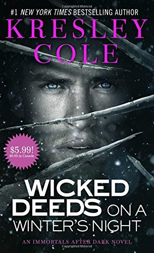 Kresley Cole Wicked Deeds On A Winter's Night Promotion Off