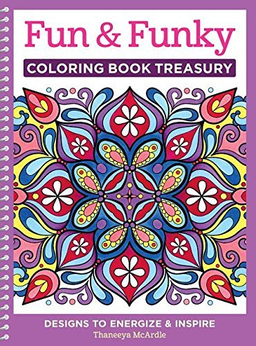 Thaneeya Mcardle Fun & Funky Coloring Book Treasury Designs To Energize And Inspire