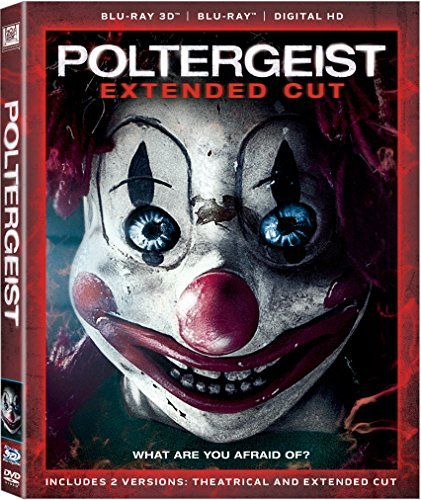 Poltergeist Rockwell Dewitt 3d Blu Ray Dc Pg13 Extended Cut
