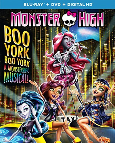 Monster High Boo York Boo York Blu Ray
