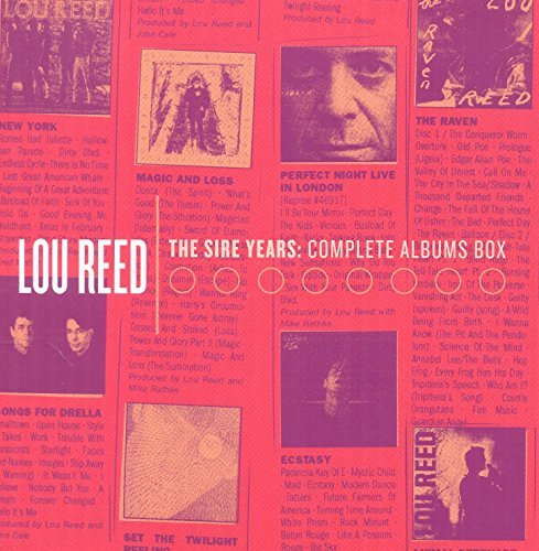 Lou Reed Sire Years Complete Albums Bo Sire Years Complete Albums Bo