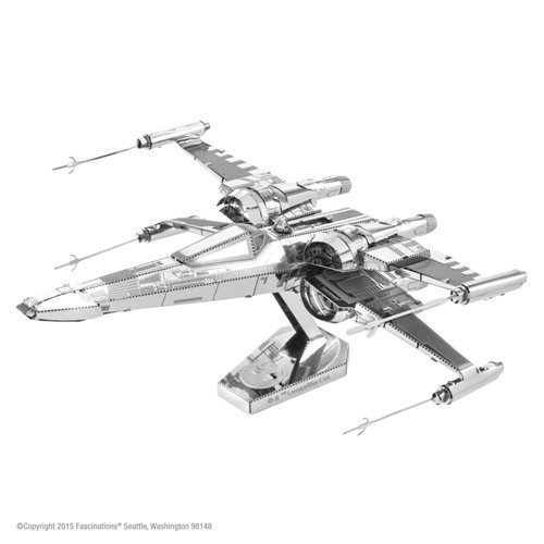Novelty Metal Earth Star Wars X Wing Fighter Poe Dameron Ep7