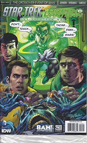 Comic Book Star Trek Green Lantern Spectrum War