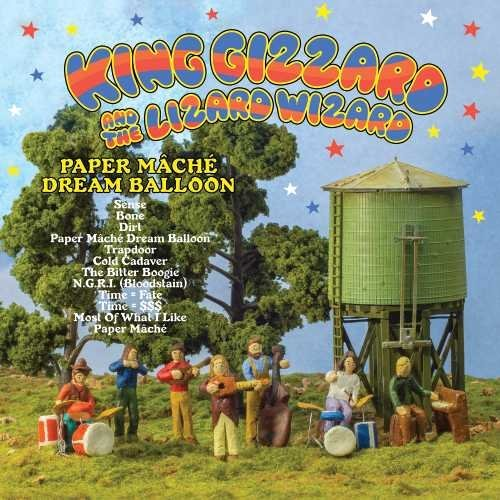 King Gizzard & The Lizard Wiza Paper Mache Dream Ballon Paper Mache Dream Ballon
