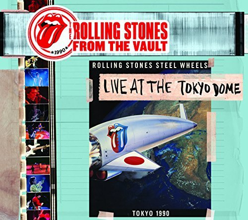 Rolling Stones From The Vault Live At The Tokyo Dome 1990 4xlp DVD From The Vault Live At The Tokyo Dome 1990