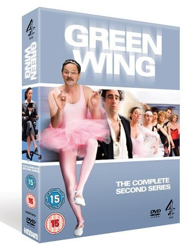 Green Wing Series 2 Pal Region 2
