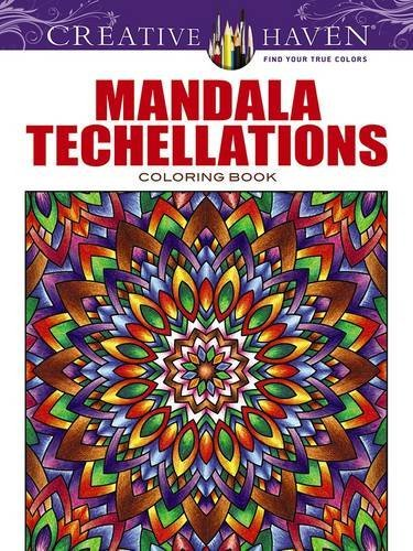 John Wik Creative Haven Mandala Techellations Coloring Book First Edition