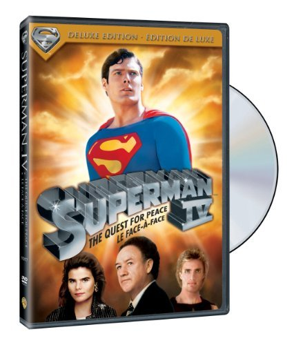 Superman 4 Reeve Hackman Cryer Mcclure Ki Deluxe Edition
